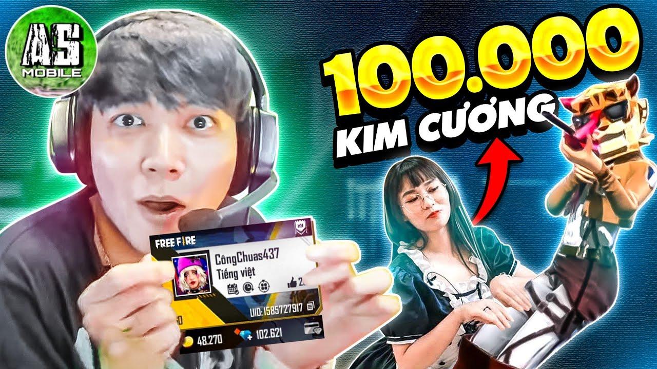 [Free Fire] Đột Nhập Vào Acc Misthy Phát Hiện 100k Kim Cương !?! | AS Mobile
