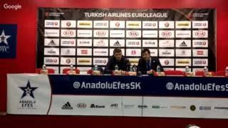 Anadolu Efes - Unics Kazan Basın Toplantısı
