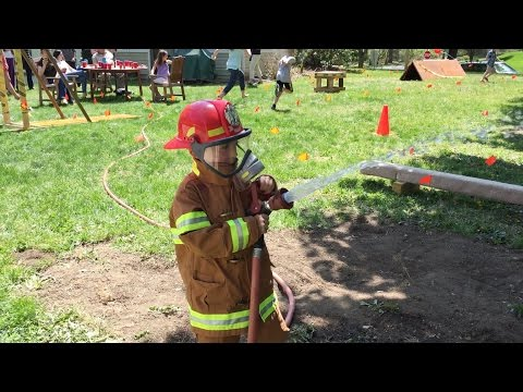 THE ULTIMATE KIDS FIREMAN TRAINING OBSTACLE COURSE PARTY