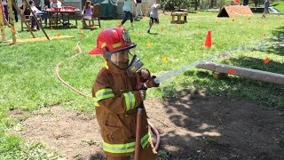 THE ULTIMATE KID'S FIREMAN TRAINING OBSTACLE COURSE PARTY