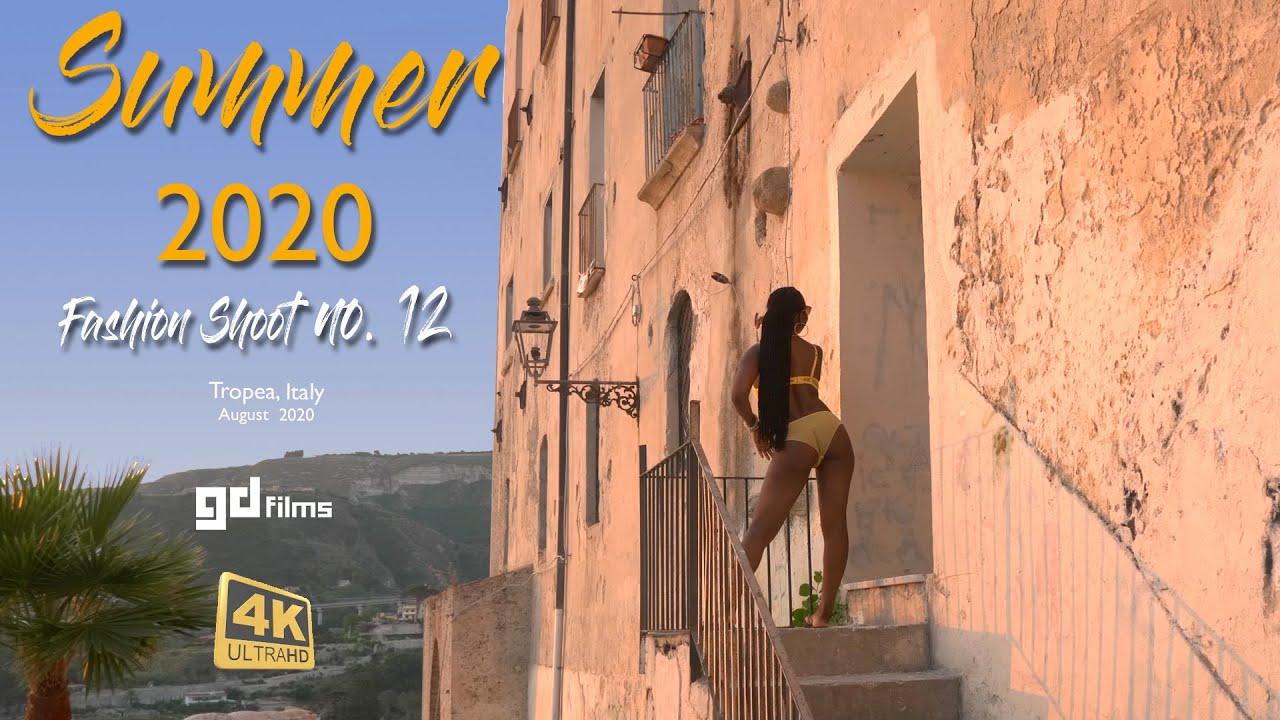 Video Shoot 12 • Mel's Summer Fashion, Yellow Bra Set • GD Films • 4K UHD Aug 2020