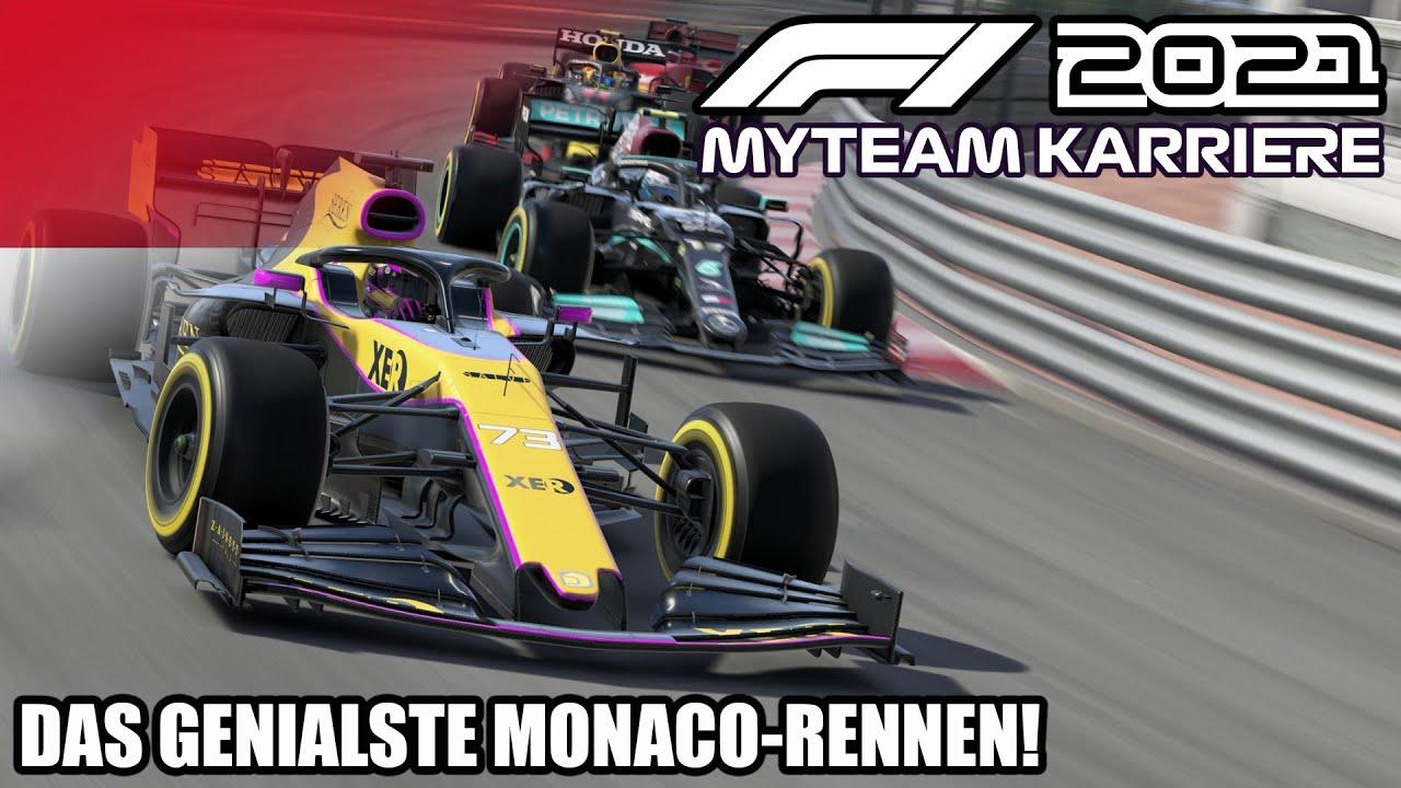 Das GENIALSTE Monaco-Rennen ever! | F1 2021 My Team Karriere #23