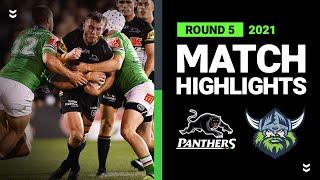 Panthers v Raiders Match Highlights   Round 5, 2021   Telstra Premiership   NRL