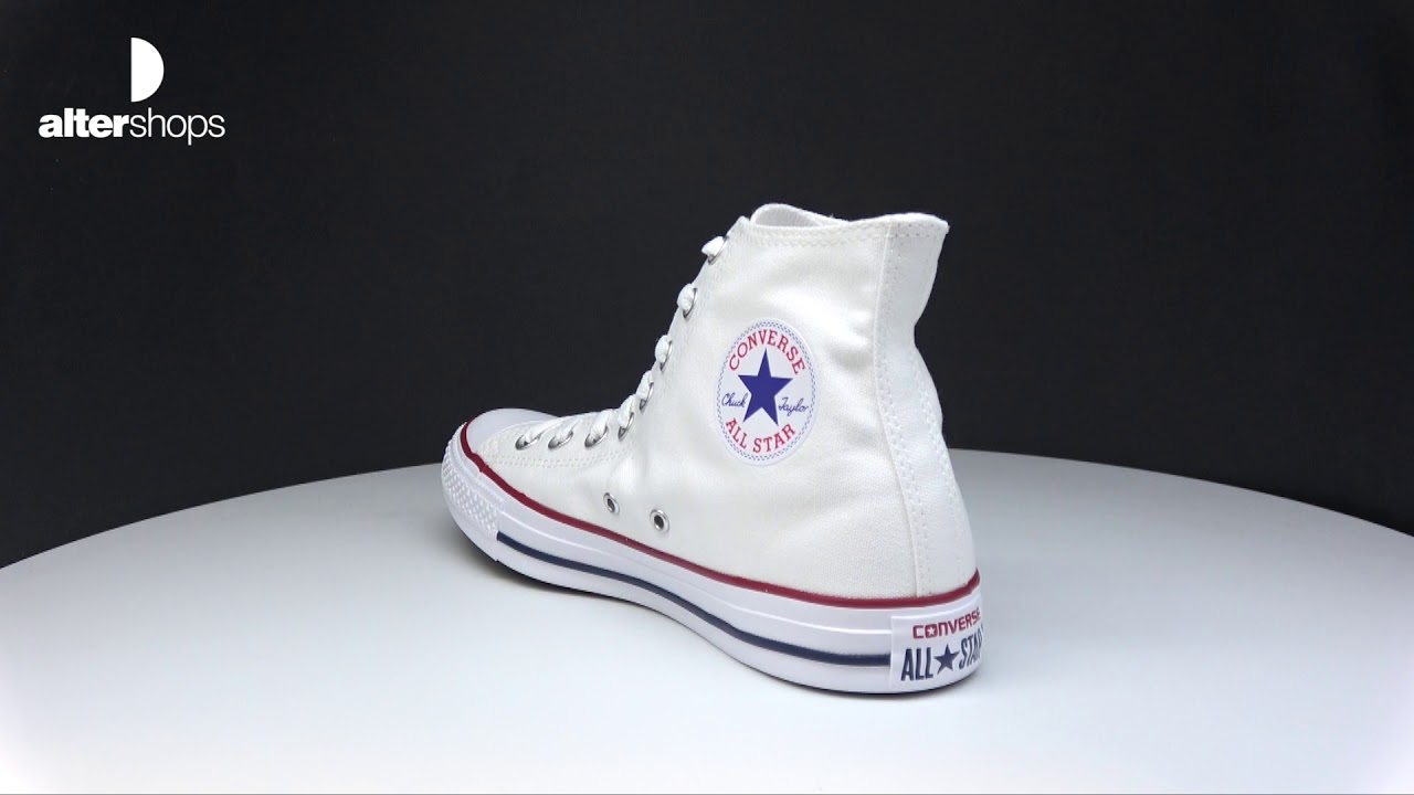 mejores zapatos estilo de moda de 2019 los recién llegados Converse Chuck Taylor HI M7650C - YouTube