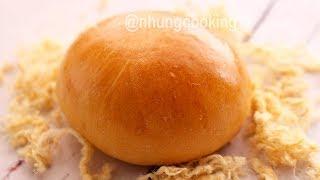 Cách Làm Bánh Mì Nhân Chà Bông / Pork Floss Bun (Tangzhong Method)