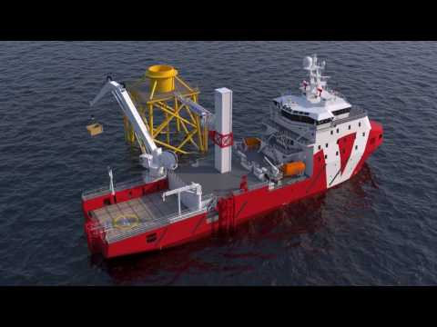 VOS Start and VOS Stone - Eagerly awaited walk-to-work offshore-support vessels