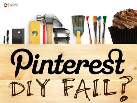 Do It Yourself Pinterest Fail? Mother's Day craft - YouTube