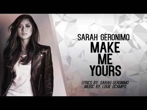 Sarah Geronimo — Make Me Yours (Official Lyric Video)