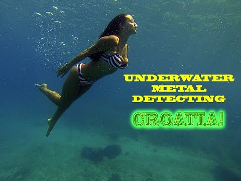 Underwater Metal Detecting Croatia 2016: GOLD and DIAMONDS!