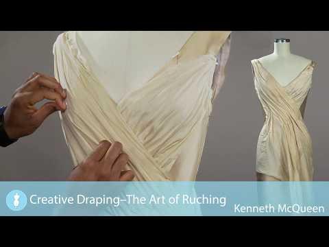Creative Draping-The Art Of Ruching