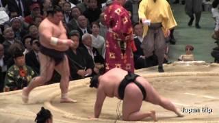 2017大相撲大阪春場所での豪栄道 vs 豪風の取組。この取組の翌日に豪栄...