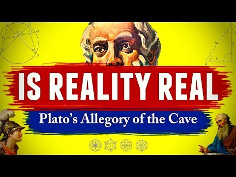 Is Reality Real? - Plato's Allegory of the Cave || Theory of Forms Explained