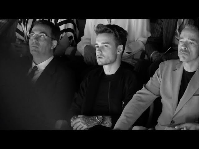 Giorgio Armani - 2018 Spring Summer - Menswear Collection - Post Show Interview with Liam Payne