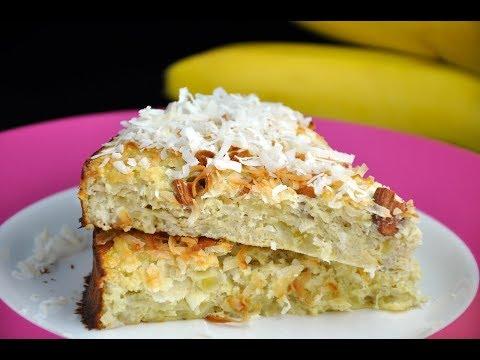 gâteau-sain-noix-de-coco-banane-sans-sucre-ni-gluten