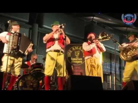 Bierkeller's in house Oompah band Bavarian Stompers @ Etihad Stadium!