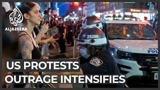 US protesters defy curfews as outrage over police brutality intensifies
