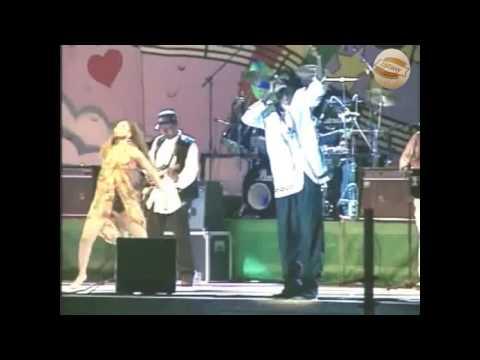 Buju Banton and Wayne Wonder at  Reggae Sumfest 1995