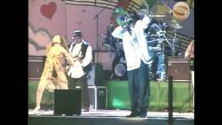 Buju Banton and Wayne Wonder at  Reggae Sumfest 1995
