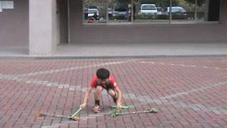 "For Bravojuggling""s contest. Kentaro""s favourite trick 『Dual Prope..."