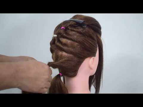 Simple & Easy hairstyle with trick | Wedding hairstyles | Beautiful Hairstyle for Wedding / party thumbnail