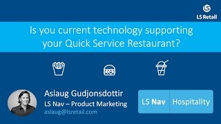 LS Nav Hospitality - Restaurant POS and management software system