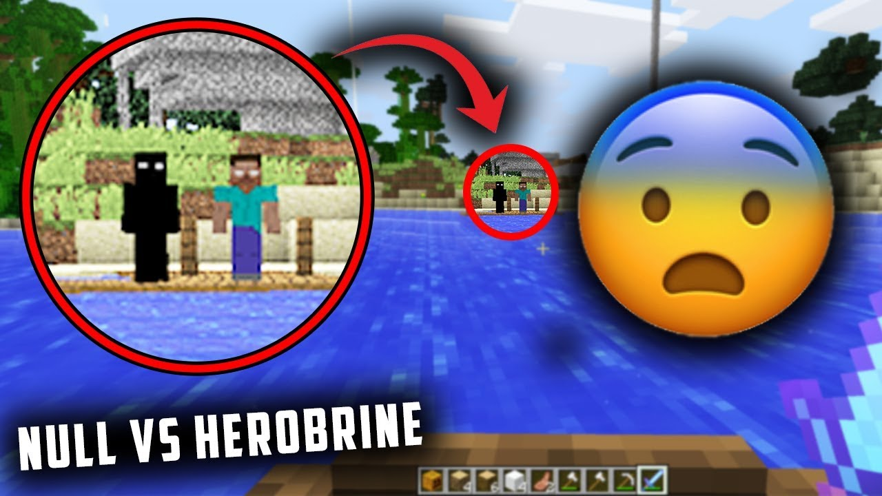 Herobrine Null Are Following Me In Minecraft Finding Herobrine In Minecraft