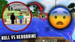 Herobrine & Null are following me in Minecraft... (Finding Herobrine in Minecraft)
