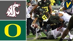 Washington State vs #11 Oregon Highlights | Week 9 | College Football Highlights