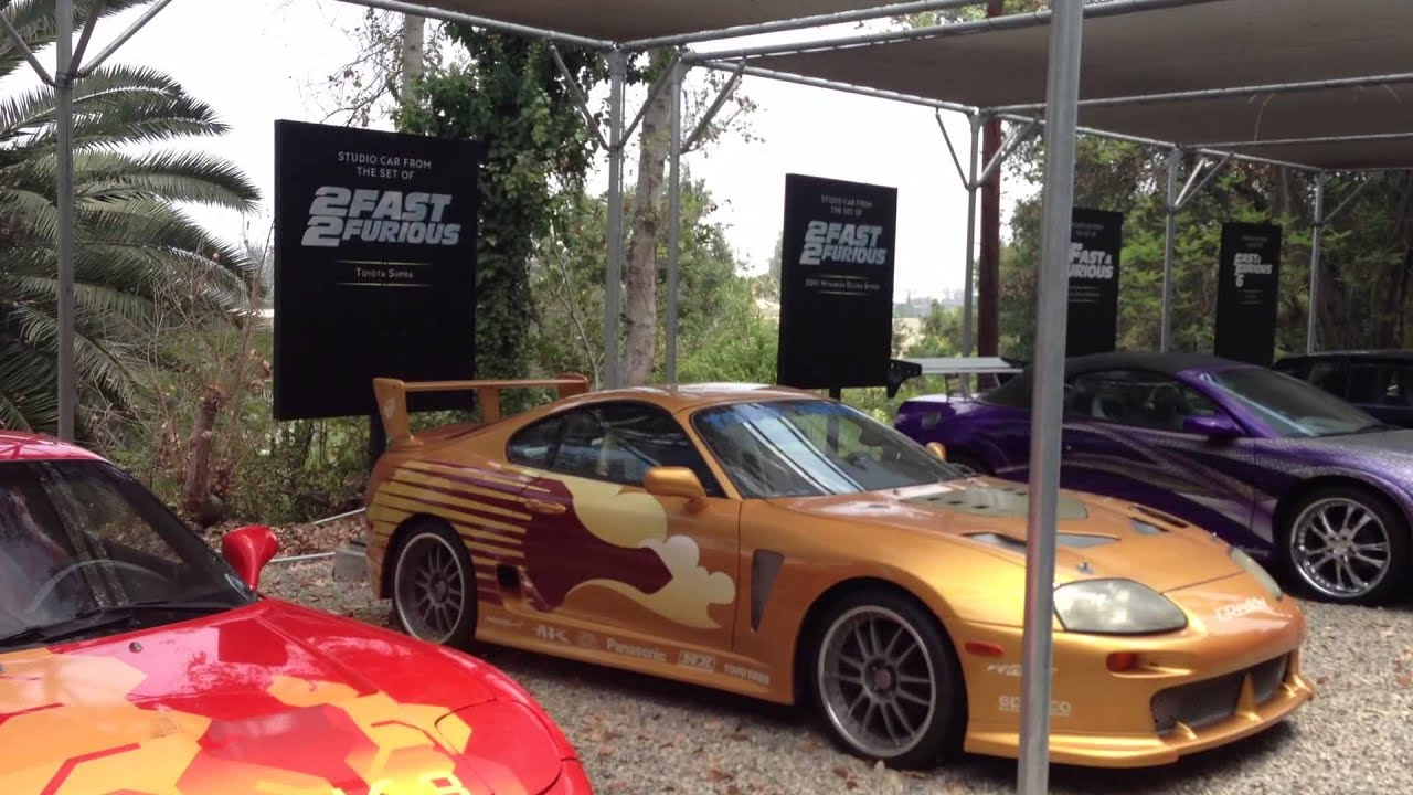 Charmant Fast And Furious Movie Cars @ Universal Studios   YouTube