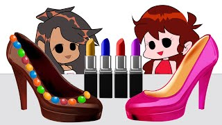 Chocolate Make-up Challenge 초콜…