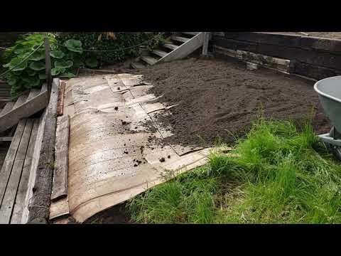 How To Start New Garden Bed Over Grass Using Cardboard