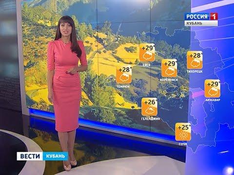 Что погода принесет Кубани в выходные дни?