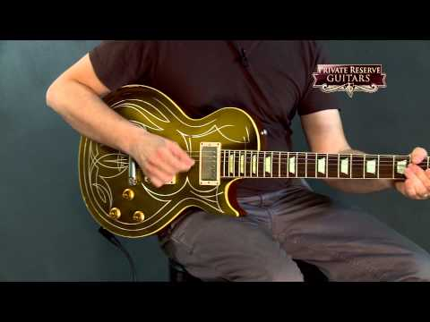 Gibson Custom Billy Gibbons Les Paul Goldtop Aged Electric Guitar