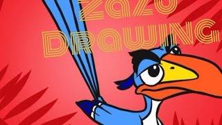 Zazu Drawing