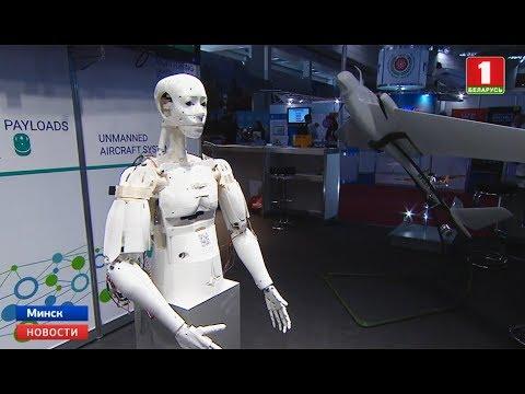 Человекоподобного робота белорусского производства представили на TIBO-2019
