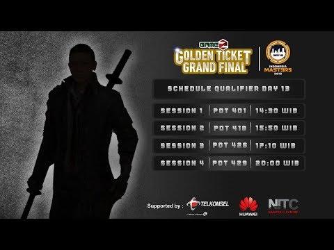 download GAMEZ GOLDEN TICKET SQUAD | QUALIFIER DAY 13