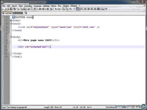 [CSS3 ] CSS Development (with CSS3!) - Session 5