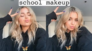 SCHOOL MAKEUP ROUTINE 2018! (under 10 minutes)