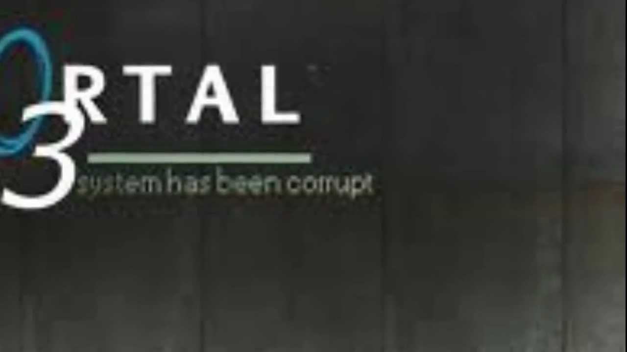 Portal 3 official trailer leaked youtube for 3 portals