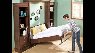 Queen Size Deluxe Murphy Bed Kit, Vertical