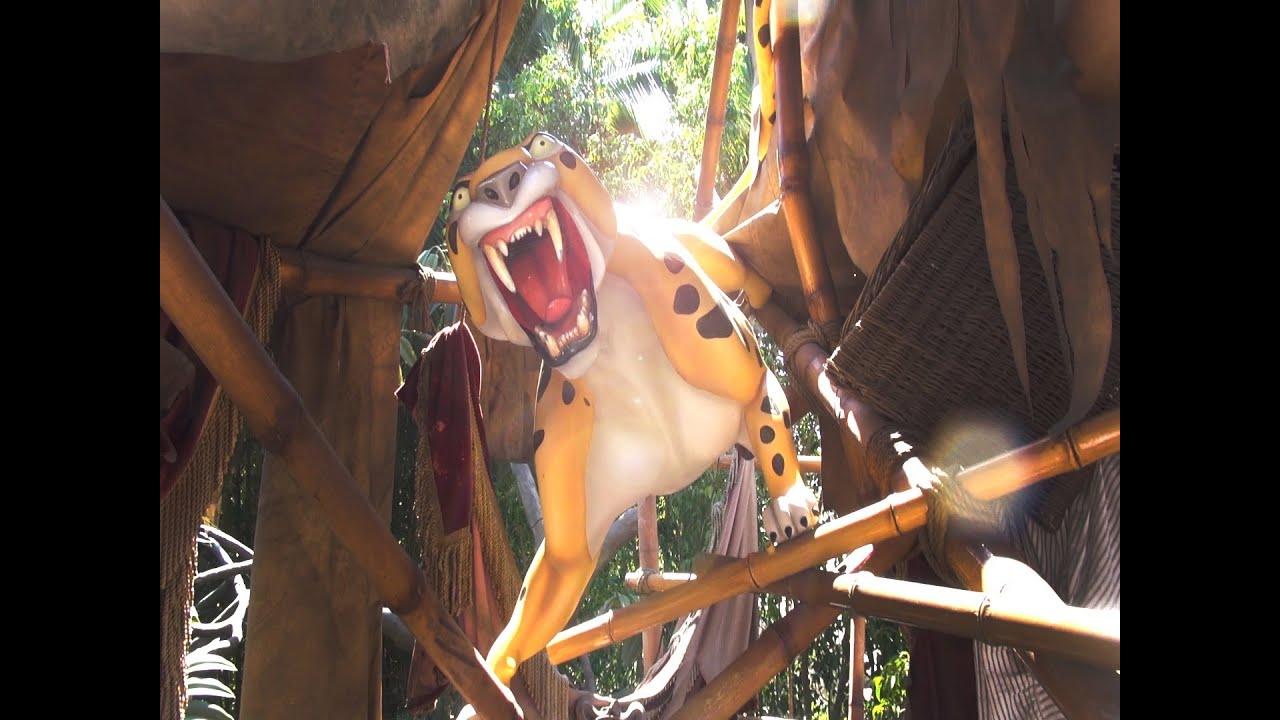 Tarzan S Treehouse Full Pov Disneyland Resort Ca Youtube