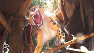 Tarzan's Treehouse FULL POV Disneyland Resort CA