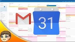 Google Calendar & GMail Integration w/ Windows 10   Windows 10 Tips