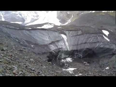 Цейское ущелье, осетия ледник