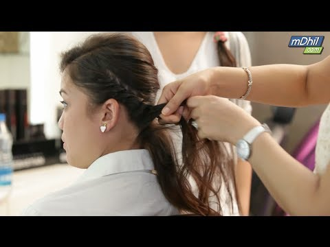 DIY Hairstyles for Girls - Tamil - 동영상