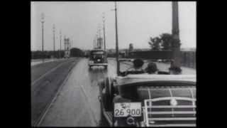 """""""Kino, kawa i Warszawa"""" -- Aleje Jerozolimskie 1935"""