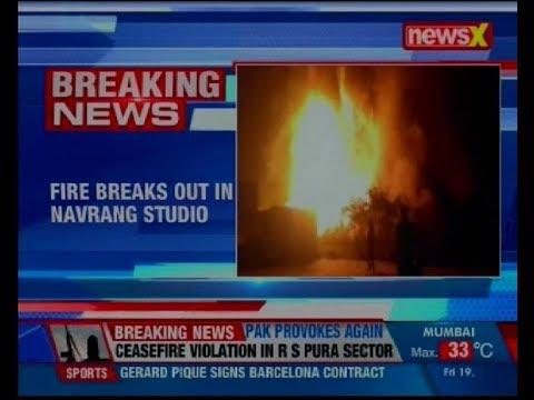 Major fire at Navrang Studio in Mumbai's Lower Parel