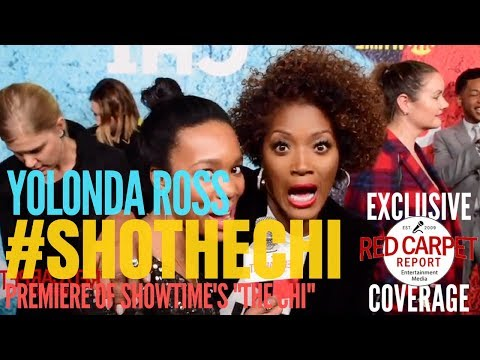Yolonda Ross ed at premiere of times's new series