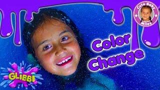 GLIBBI Color Change Slime  Farbwechsel Glibber Schleim Badespaß Gelli Baff - CuteBabyMiley