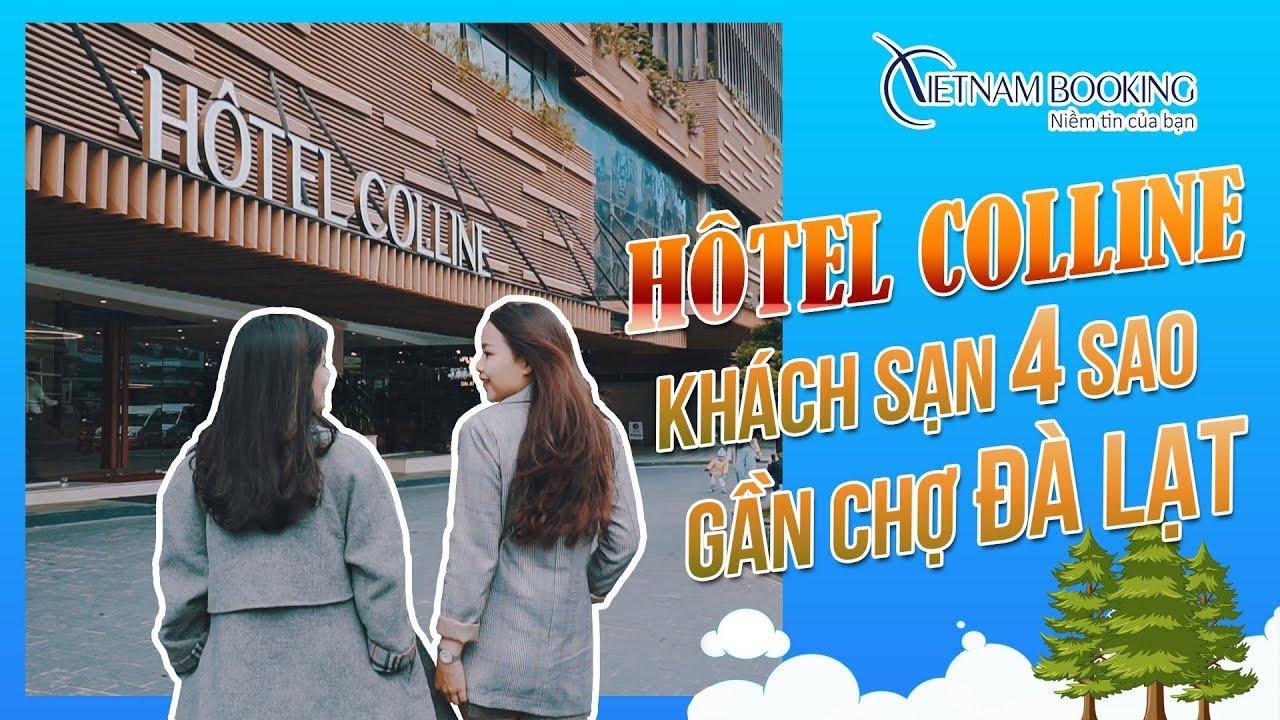 """Chị chị em em trải nghiệm Hôtel Colline – Khách sạn 4 sao gần chợ Đà Lạt """"chất phát ngất""""!!!"""
